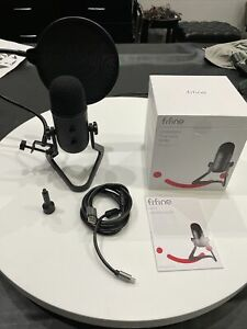 FIFINE K678 USB Podcast Microphone Recording Streaming. Gently Used