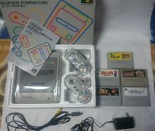 complete! 5Games+Nintendo Super Famicom Console System Boxed  Ship Free!