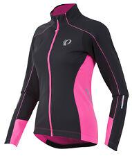 Pearl Izumi Women's Elite Pursuit Softshell Jacket Black/Screaming Pink - Medium