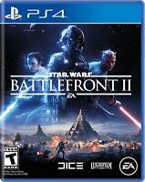 Star Wars Battlefront 2 (PS4) NEW & SEALED