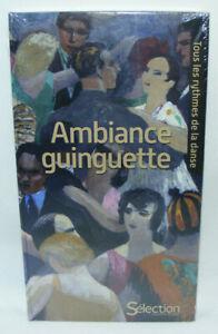 Coffret 3 CD / 1 DVD AMBIANCE GUINGUETTE Tous les rythmes de la danse Reader's