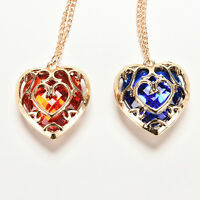 For the Legend of Zelda Skyward Sword Heart Container Necklace Pendant Anime BR