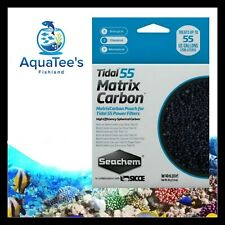 SEACHEM TIDAL MATRIX CARBON 55 FILTER REPLACEMENT MEDIA PACK Aquarium Tank Salt