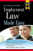 """VERY GOOD"" Employment Law Made Easy, Slocombe, Melanie, Book"