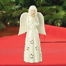 "Lenox Angel Holding Cross 5"" Tall Porcelain Figurine New in Box Perfect Gift"