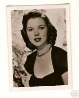 Shirley Temple 1950s Tobacco Movie Photo Card