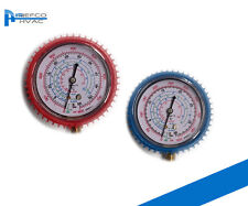R410a - R22 -R134 REFRIGERATION MANIFOLD GAUGE SPARE HIGH & LOW AIR CONDITIONING