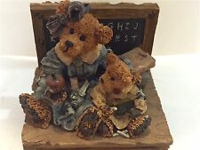 """The Boyds Collection 1996 1E Music Box 2756Sf """"Getting To Know You"""" Nwob"""