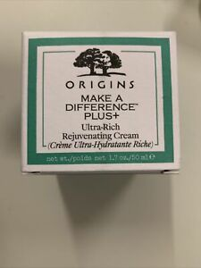 Origins Make A Difference Plus+ Ultra Rich Rejuvenating Cream 50ml BNIB