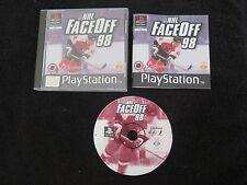 PS1 : NHL FACE OFF 98 - Completo ! Compatibile PS2 e PS3