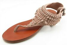Vince Camuto Size 8.5 M Brown Gladiator Leather Women Sandal Shoes