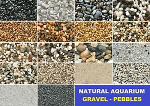 Aquarium Natural Gravels Gravel Pebbles Stones Fish Tank Aquascape Terrarium