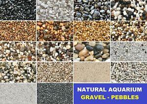 Aquarium Natural Gravels Gravel Pebbles Stones Fish Tank Aquascape Terrarium
