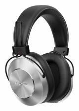 Pioneer SE-MS7BT-S Hi-Res Closed Headphone Bluetooth Wireless Silver w/ Tracking