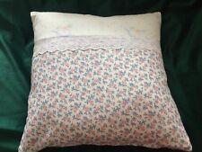 Vintage Laura AshleyFabric Nursery Cushion - Rocking Horse/Guinevere