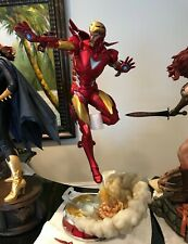 Sideshow Iron Man Extremis Mark II Statue -exclusive Adi Granov Artist Series