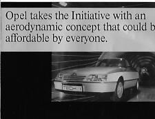 """OPEL """"Tech 1' Concept Car folleto de ventas década de 1980"""