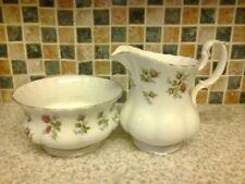 Unboxed Sugar Bowl Pink Royal Albert Porcelain & China