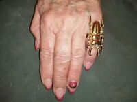 Haunted Djinn Occult Conjure Ring Energy Sacred Magick Spell Psychic Power 3 Eye