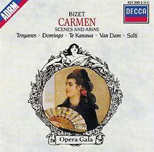 BIZET : CARMEN - SCENES AND ARIAS / TROYANOS - DOMINGO - SOLTI / CD