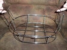 """EASY LIFT ROASTING RACK WITH HANDLES - STAINLESS STEEL -  NEW  - 12.5"""" x 9"""" x 3"""""""