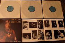 RENATO BRUSON  box 3 LP + booklet -  Horvath / Banca Monte  con custodia