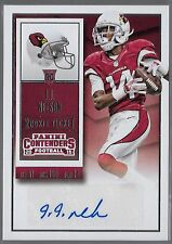 2015 Panini Contenders Football Rookie Ticket J.J. Nelson Auto Rc