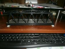 KATO N-SCALE UNITRACK BLACK DOUBLE TRACK TRUSS BRIDGE