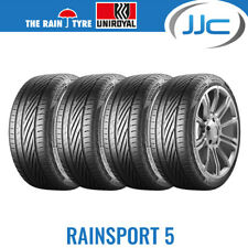 4 x Uniroyal RainSport 5 195/55/15 85V Wet Weather Road Tyres