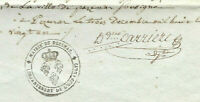 1801 PEZENAS FREEMASON mayor manuscript document INCREDIBLE  SIGNATURE WOV +++++