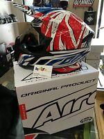 CASCO AIROH TWIST LEADER GLOSS MOTO CROSS ENDURO OFFROAD TAGLIA XL