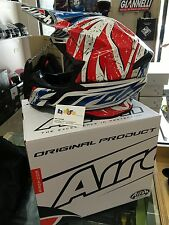 CASCO AIROH TWIST LEADER GLOSS MOTO CROSS ENDURO OFFROAD TAGLIA S