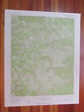 Tassajara Hot Springs California 1958 Original Vintage USGS Topo Map