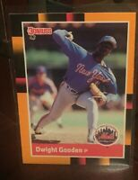 1988 Donruss Baseball's Best New York Mets Baseball Card #96 Dwight Gooden