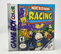 Nicktoons Racing (Nintendo Game Boy Color, 2000) Authentic Complete Tested GBC