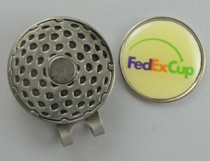 PGA Golf FEDEX CUP Hat Clip w/Removable Ball Mark