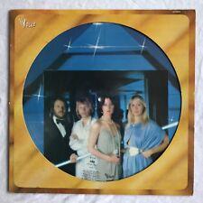 ABBA -Voulez Vous- Rare French Picture Disc LP (Vinyl Record)