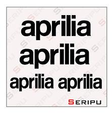 X4 PEGATINAS APRILIA RECORTE STICKERS MOTO SCOOTER  VINILO  TUNING ADESIVO