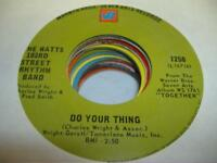 Soul 45 THE WATTS 103RD STREET RHYTHM BAND Do Your Thing on Warner Bros. - Seven