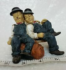 Laurel and Hardy Vintage Collectible Figure Figurine