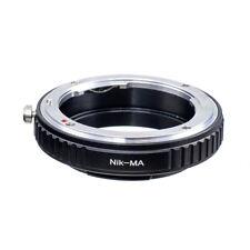 Macro Confirm Nikon F mount AI lens to Sony Alpha Minolta MA A Adapter A77 A900