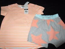 Bonds Boys Childrens Short Sleeve PJ Set Pyjamas Size 3 & 4 3