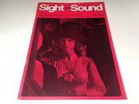 Sight And Sound Vintage Cinema Movie Magazine Autumn 1972 Godfather Coppola Film