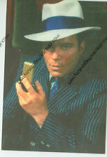 "STAR TREK-CAPTAIN JAMES T. KIRK IN PINSTRIPE SUIT AND HAT-4""X6""-(SK-189*)"