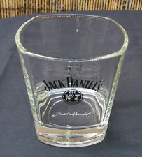 Jack Daniels Whisky Glass Tumbler - Old No7 Brand - Excellent - Signed to Base