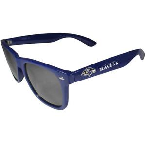 Baltimore Ravens Retro Sunglasses UVA 400 Lens NFL Beachfarer Wayfarer Style