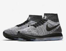 362e3da27d99 Nike Women s 8 Zoom All out Flyknit Wolf Grey White Black 845361 003