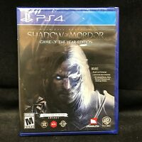 Middle-earth: Shadow of Mordor -- Game of the Year Edition (PlayStation 4) NEW