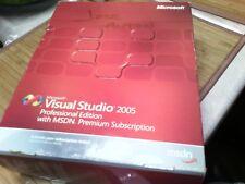Microsoft Visual Studio 2005 Professional Edition MSDN Premium Subscrip 8 cds