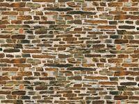 Auhagen 50115 H0 5 Dekoplatten »Kalksteinmauer« NEU OVP !